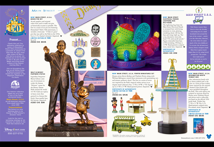 Disney Catalog Layouts